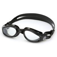 Aqua Sphere Kaiman Goggle - Black/Clear Lens
