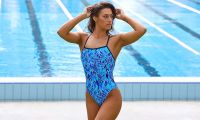 Funkita Ladies Strapped in One Piece Blue Bird