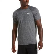 Nike Heather Short Sleeve Hydroguard (Black)