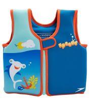 Speedo UV Printed Neoprene Swim Vest (Pink & Blue)